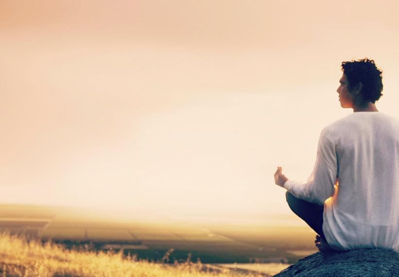 man-medit111ating